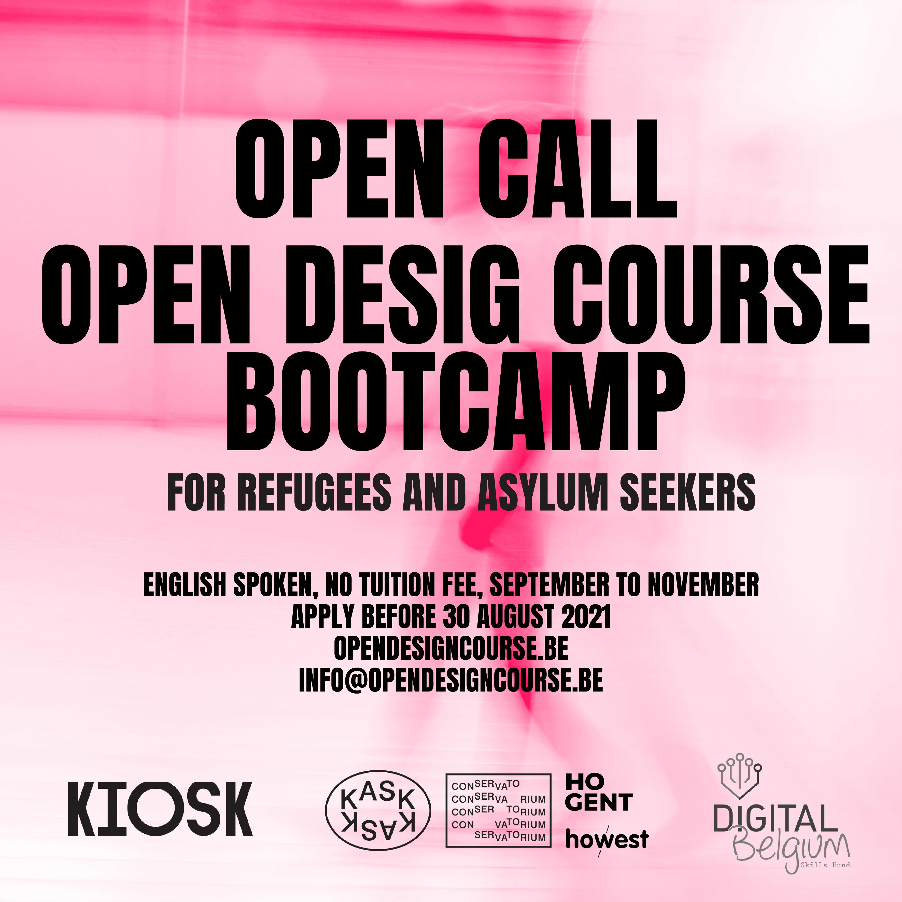 Bootcamp 2021 Open call